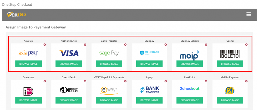 WHMCS - One Step Checkout Payment Gateway Icons Setup.png
